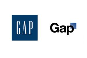 Los logos de GAP: el tradicional y el nuevo