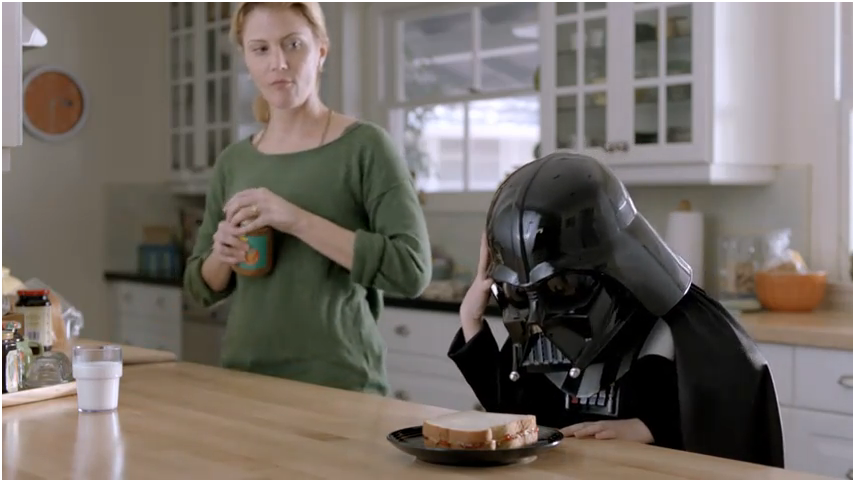 Marketing viral: los pequeños Darth Vader y Thor