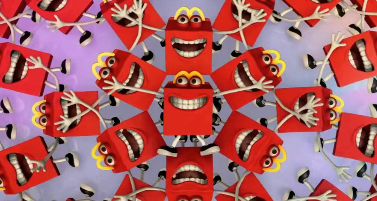 Crisis en redes sociales: Happy, la nueva mascota de McDonald's