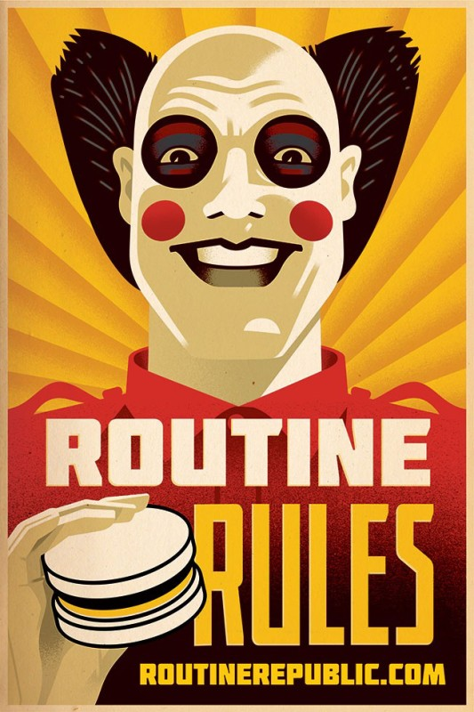 Marketing viral: Routine Republic 3