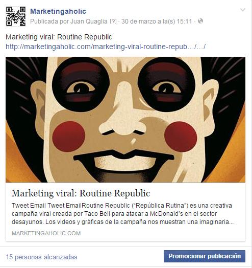 Cómo publicitar en Facebook