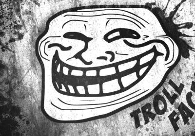 Trollface, un meme que es marca registrada